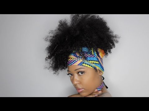 Head Wrap Hairstyles For Curly Hair Asodara