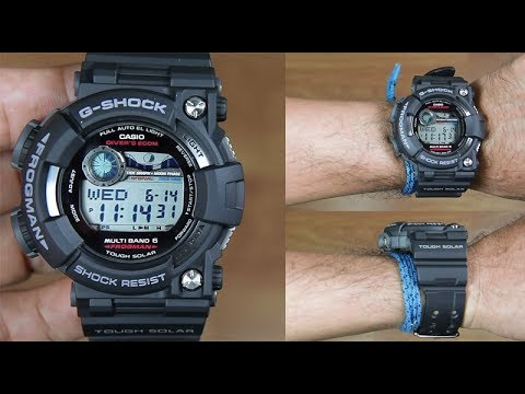 CASIO G-SHOCK FROGMAN GWF-1000-1 - UNBOXING