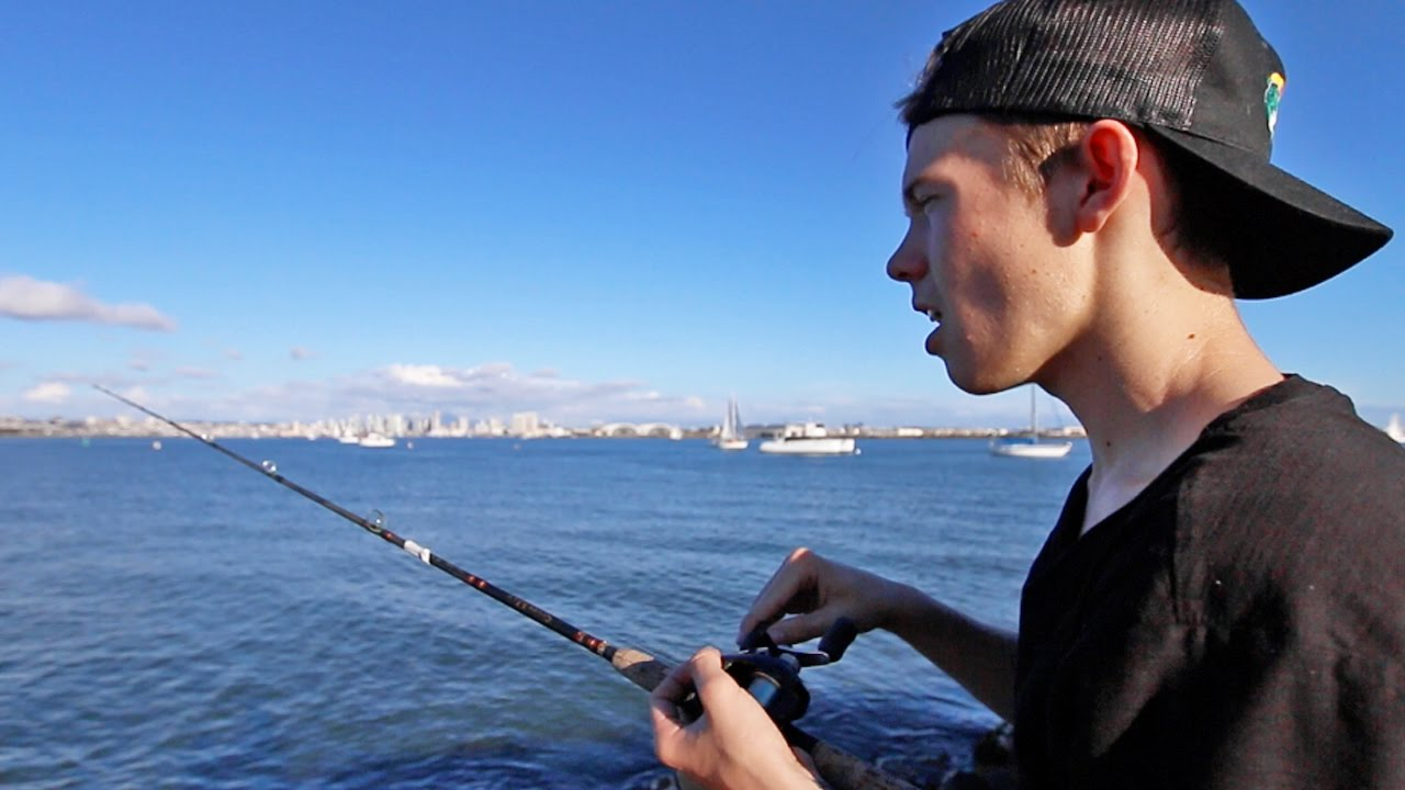 fishing with clickbait youtube