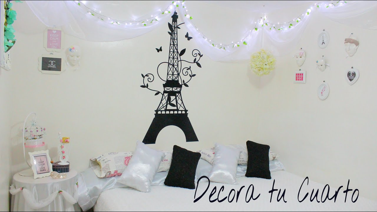 Decora tu cuarto renueva ideas youtube for Como se decora una habitacion