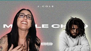 Mom REACTS to J. Cole - MIDDLE CHILD (Official Audio)