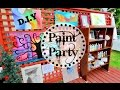 DIY PAINTING PARTY ! - PAINT FOR DREAMS - a charity event for Dreams Take Flight