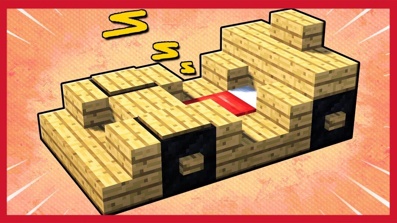 Camera Da Letto Minecraft minecraft: come fare un letto a forma di macchina