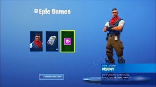 Fortnite - How to Get NEW Rare Prodigy Skin BackBling and Emote for Free!!! *Ps4 Exclusive*