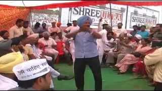 Must Watch Funny Dance AAP Winner Bhagwant Mann Celebrations Sangrur