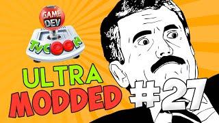 Game Dev Tycoon Ultra Modded #27 - WORLDS BEST MMO GAME w/Seniac