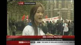 Olympic Torch Chinese Protest biased coverage