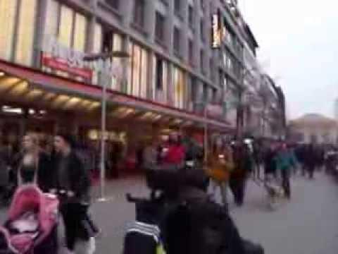 Bummel in Hannover von City bis Bahnhof  am Freitag den 7.03.2014