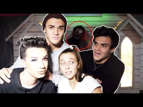 HAUNTED HOUSE ft. James Charles & Emma Chamberlain