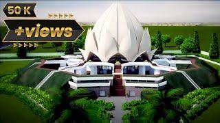 Architecture lotus temple Project
