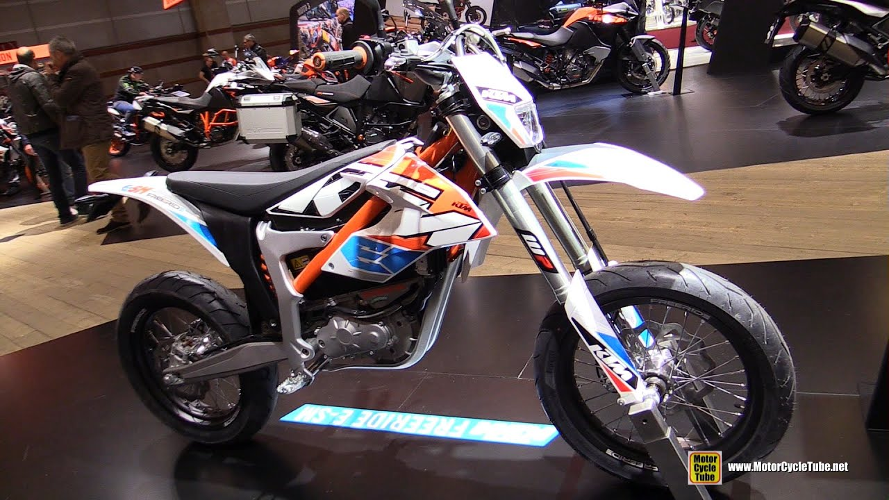 2016 ktm freeride e-sm electric bike - walkaround - 2015 salon de