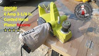 Ryobi 6 amp Electric Hand Planer review HPL52K