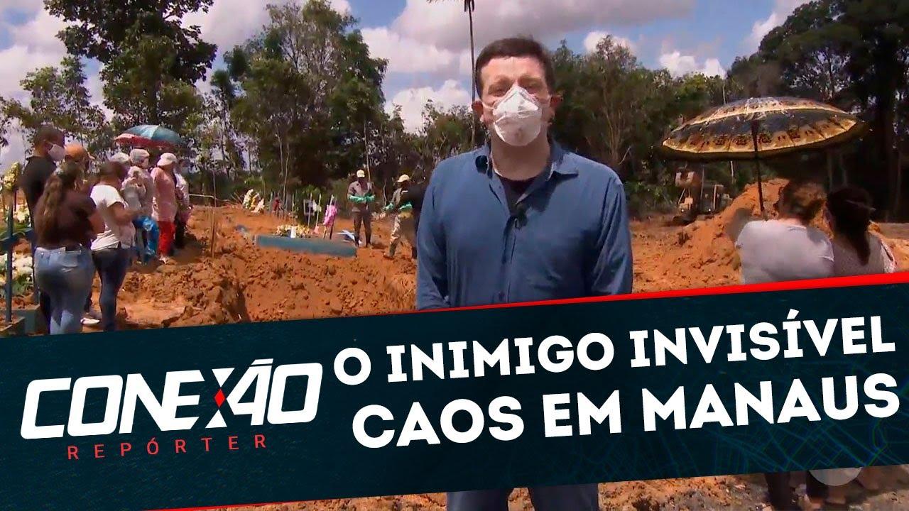 O Inimigo Invisível: Semana 6 – Caos em Manaus | Conexão Repórter (27/04/20)