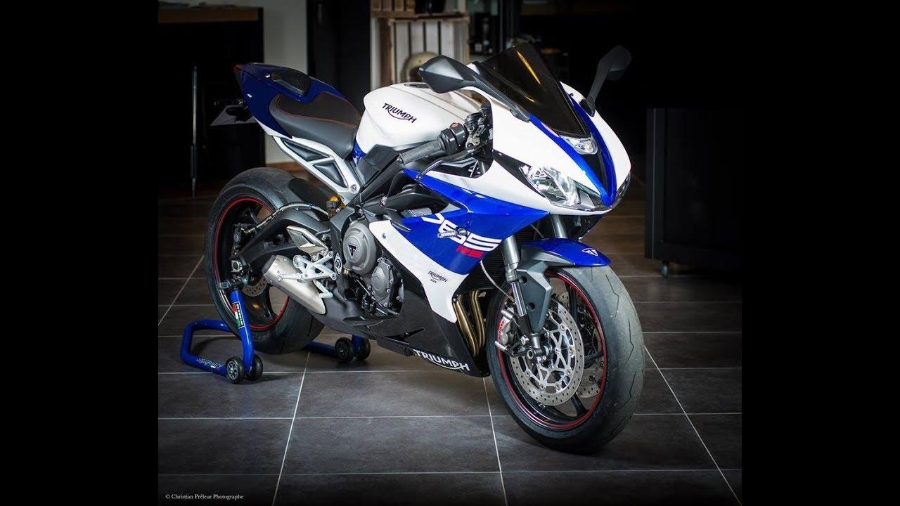 New Honda Motorcycles >> Triumph 765 prototype moto2 2019 - YouTube