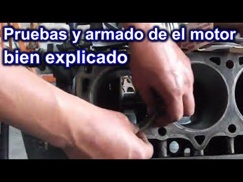De la gasolina para el motor toyota
