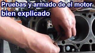 COMO REPARAR UN MOTOR DE GASOLINA