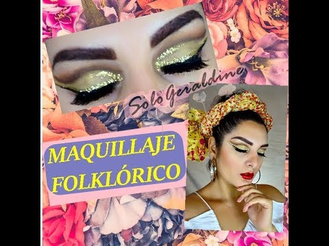Maquillaje Baile Folklorico