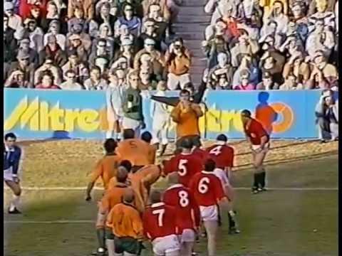 Rugby Test Match 1989 (3rd) - Australia vs. British Lions