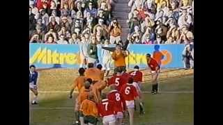 Rugby Test Match 1989 (3rd) - Australia vs. British Lions