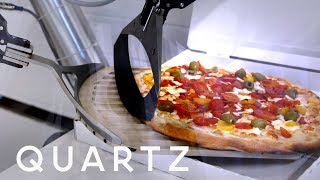A French pizza robot could replace human chefs