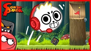 Red Ball 4 NINJA BLOCKS Let's Play with Combo Panda