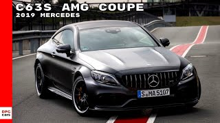 2019 Mercedes C63 S AMG Coupe