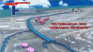 Distribuidor Vial Armando Reverón 3D