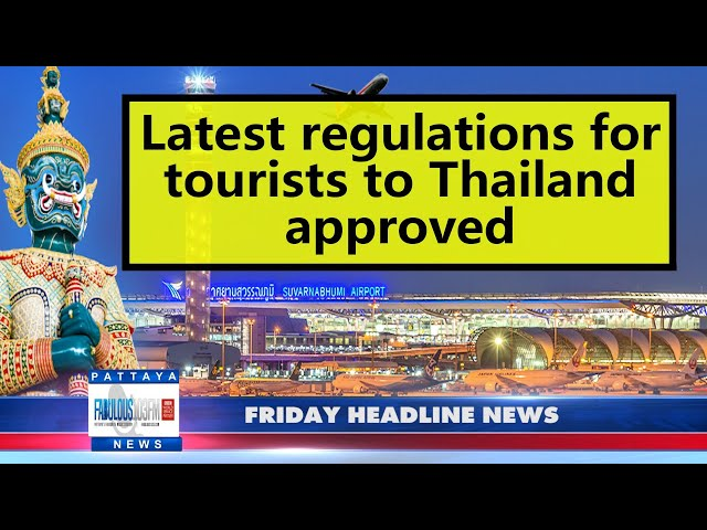 Latest Thailand News, from Fabulous 103 in Pattaya (22 October 2021)