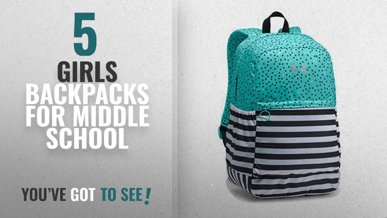 Girls Backpacks For Middle School  2018 Best Sellers   Under Armour ... 850f1af091