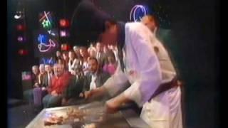 Benihana London Chef Andrew Thong in James Whale TV 1994