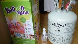видео Баллоны с гелием и шариками в наборе