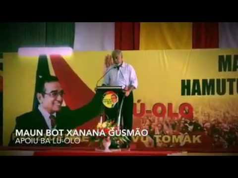 Xanana Apoio Lu-Olo ba Prezidente Periode 2017-2022