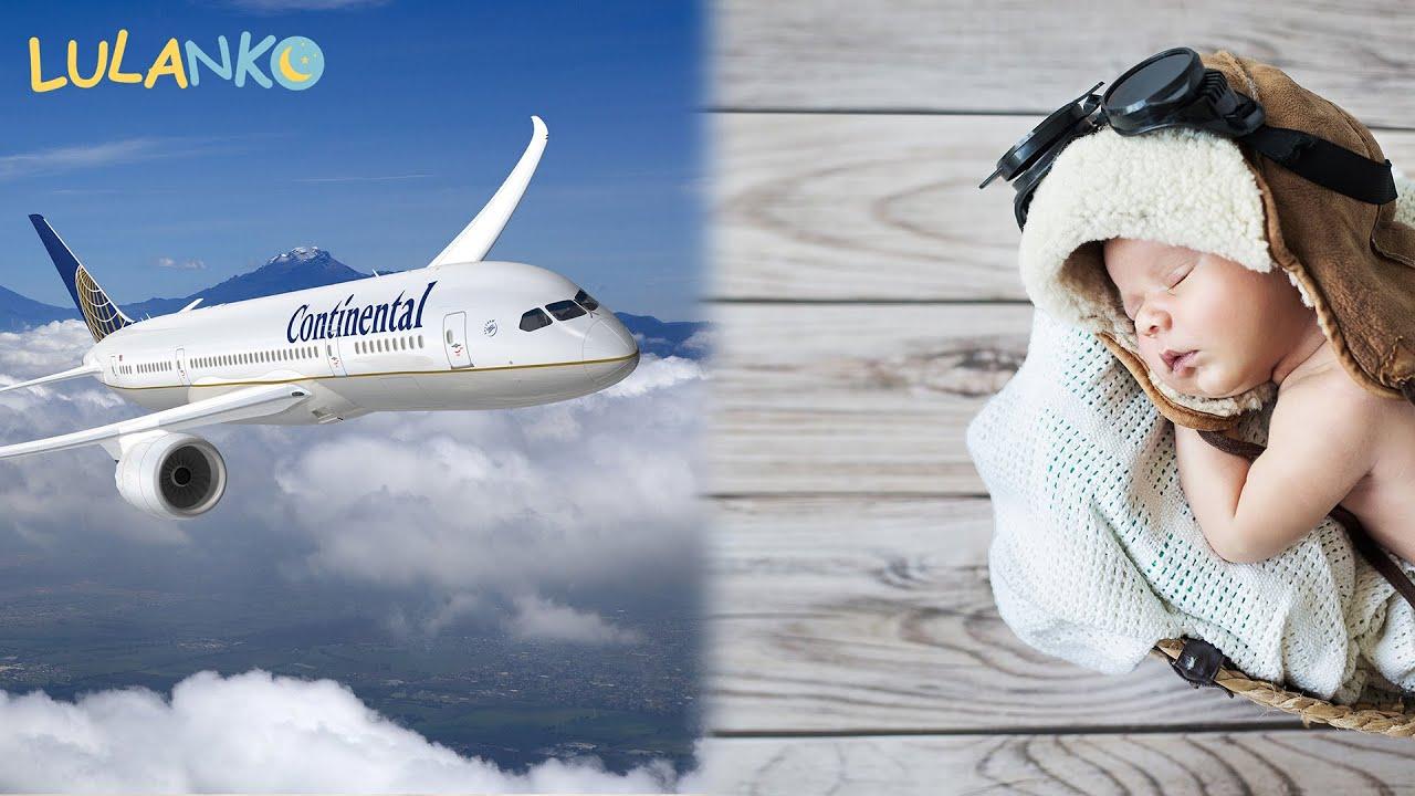 Szum podniebnej podróży samolotem