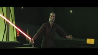 Star Wars: The Clone Wars - Nightsisters vs Count Dooku [1080p]