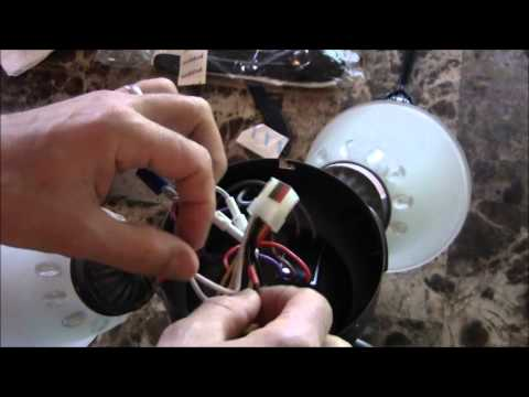 How To Fix A Flickering Or Blinking Ceiling Fan Light Youtube