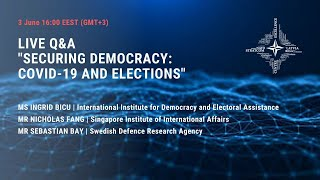Securing democracy. Covid-19 and elections