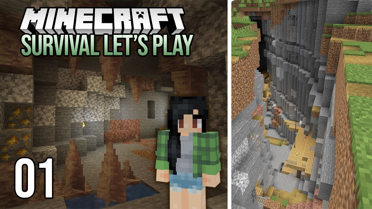 Minecraft 1.17 Single Player Survival Let's Play - Episode 1 - An Exciting New Start!