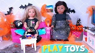 AG Baby Dolls Dollhouse Decoration and Costume Dress up for Halloween 2018!