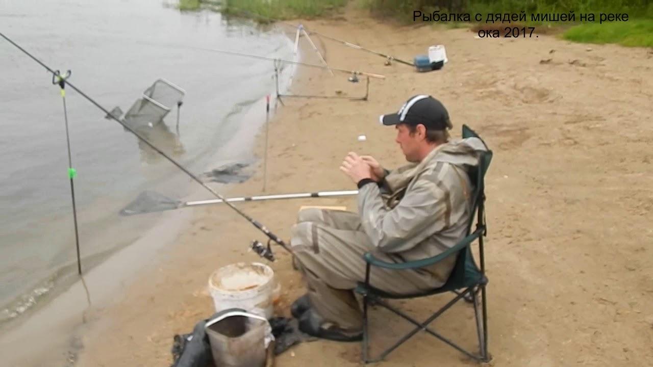 ловля на кормушку на реке оке