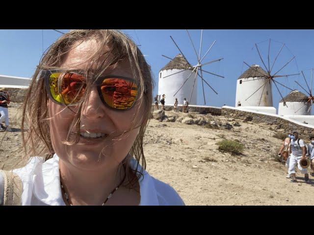 Mykonos, bardzo wietrzna wyspa. / Odc. 49