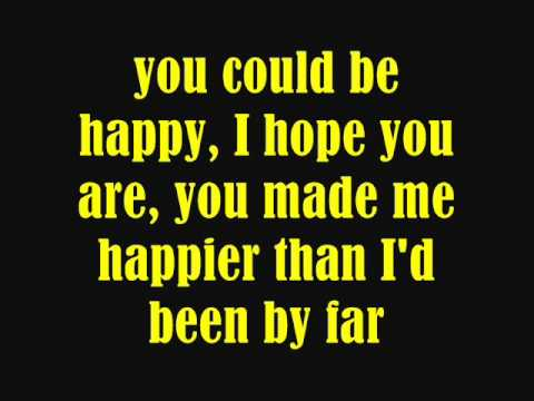 Snow Patrol - You Could Be Happy (Lyrics) - YouTube