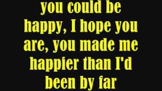 Snow Patrol - You Could Be Happy (LYRICS) HQ