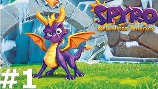 Spyro Reignited Trilogy  — Fioletowy Smok - Na żywo