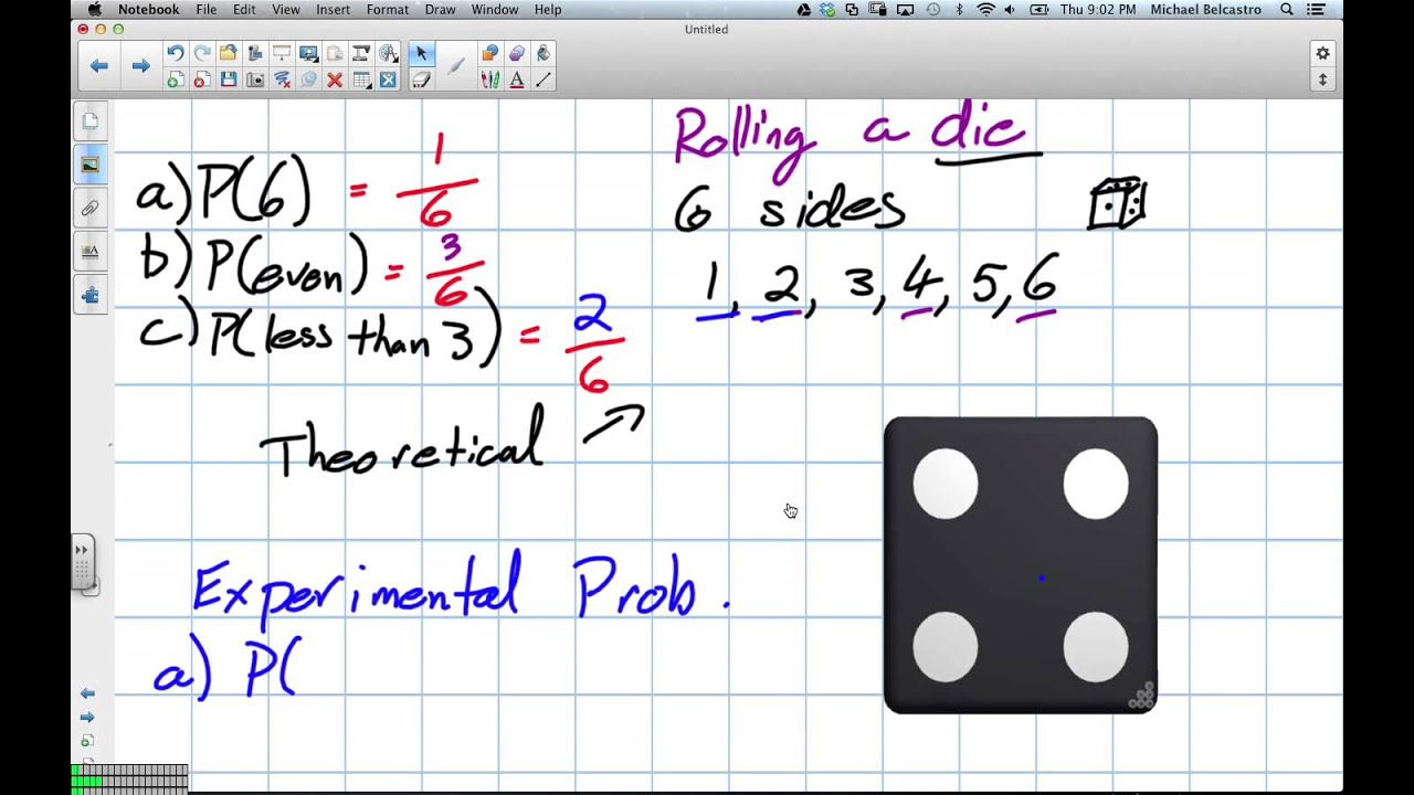 Theoretical And Experimental Probability Grade 8 Nelson