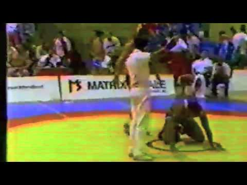 1988 Canada Cup: 130 kg Bronze Joel Greenlee (USA) vs. Jeff Thue (CAN)
