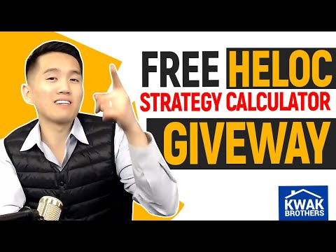 FREE HELOC Strategy Calculator Giveaway