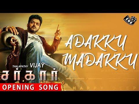 Sarkar Single Track - Mass Opening Song of Thalapathy Vijay | AR Rahman | AR Murugadoss | TOP 5