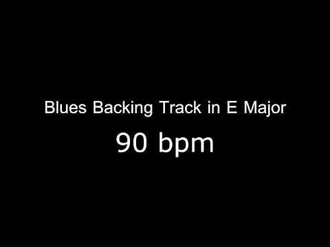 Blues Backing Track   E Major 90 bmp edit by Musician Farmer