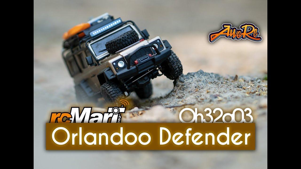 Orlandoo Defender D110 #05 [Oh32a03 1/32 Hill Climb Crawling]