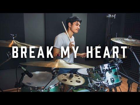 dua-lipa---break-my-heart---drum-cover